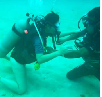 Learn to scuba dive vacations